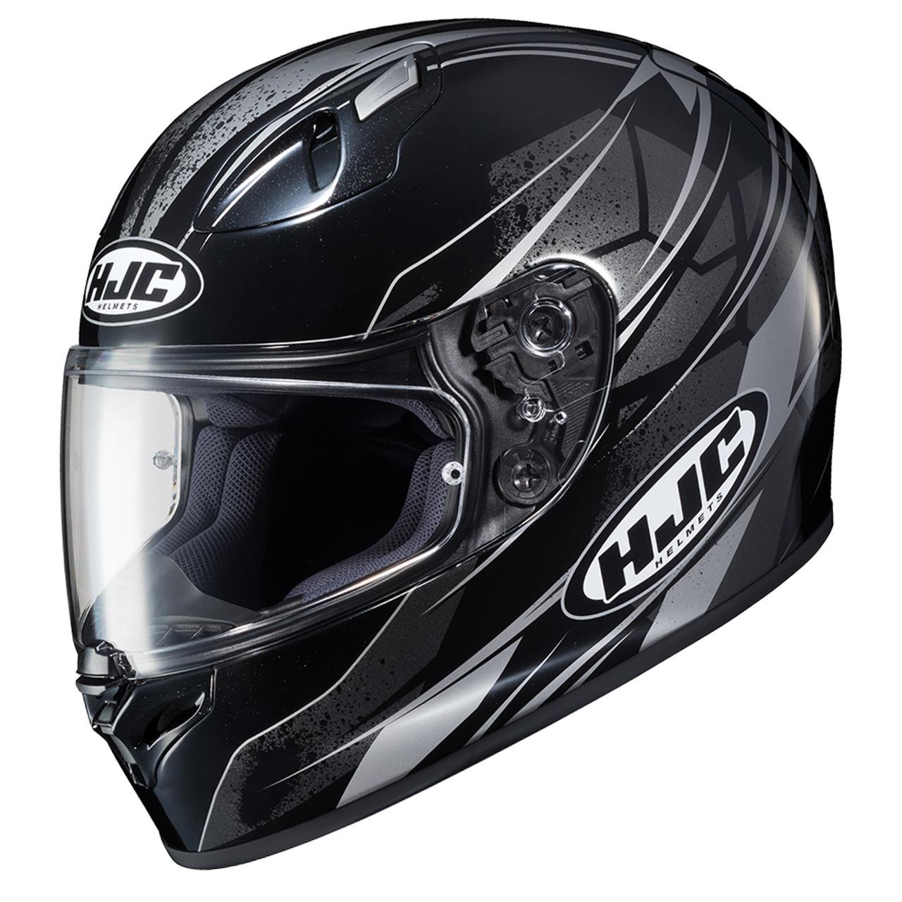 Hjc Fg 17 >> Hjc Fg 17 Toba Helmet Black Grey