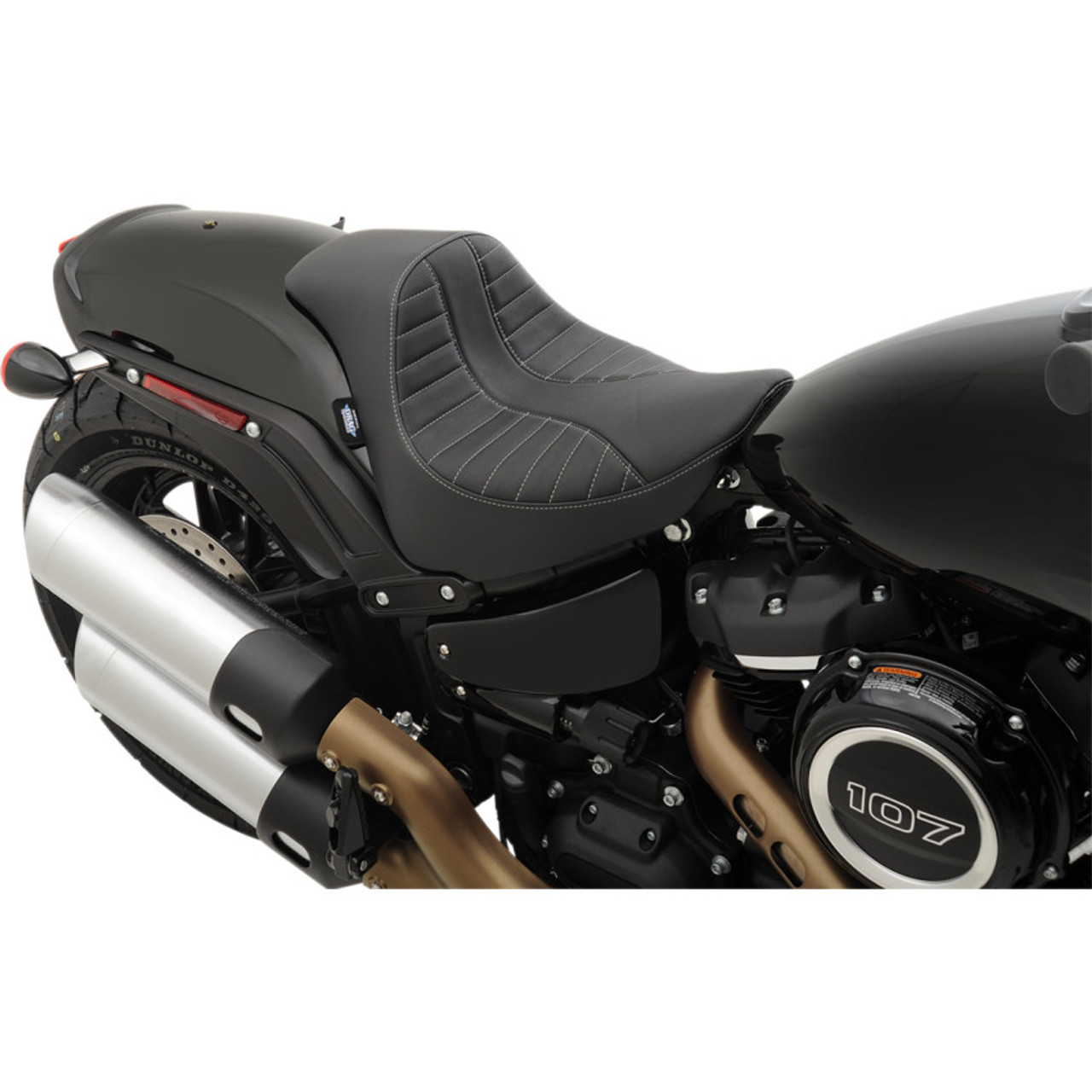 Drag Specialties Ez On Solo Seat For 2018 2019 Harley Fat