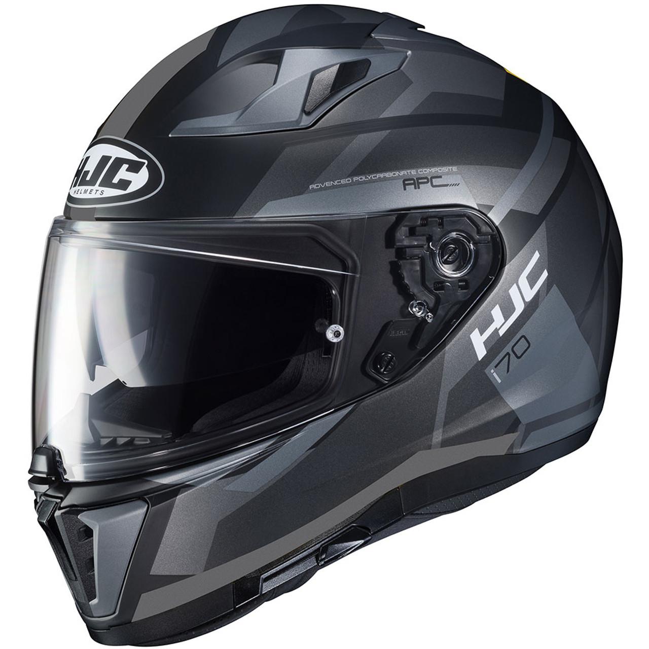 HJC CS-R3 Faren Motorcycle Helmet Orange Black w// Dark Shield SM MD LG XL XXL