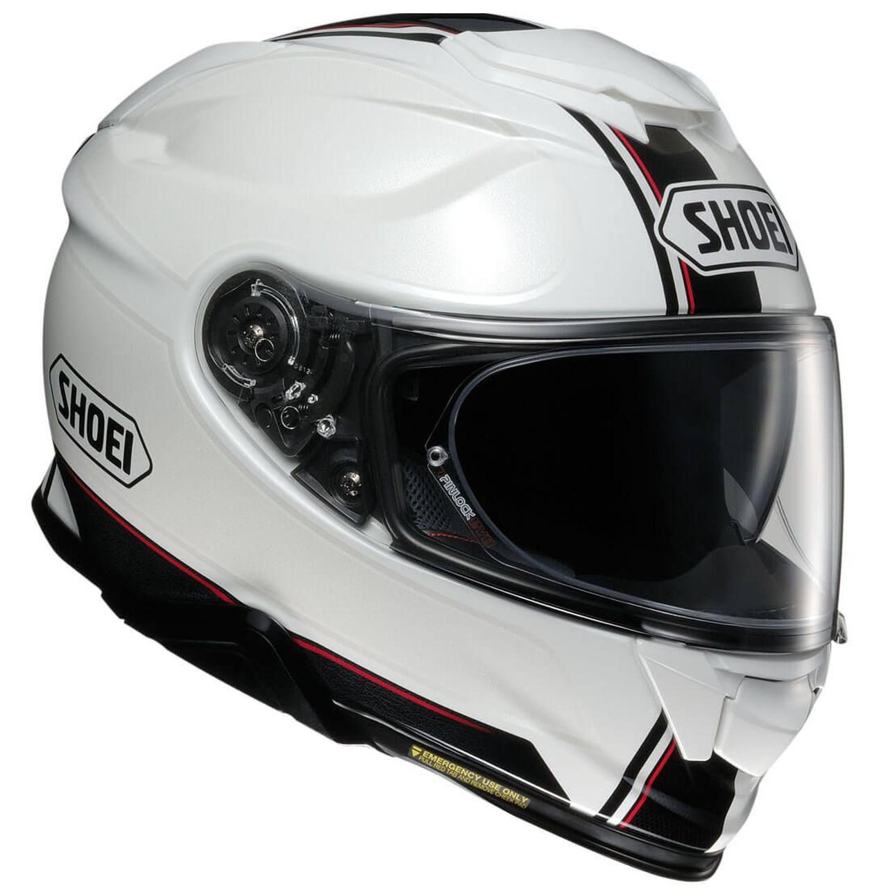 shoei gt air 2 motorcycle helmet redux white get lowered cycles. Black Bedroom Furniture Sets. Home Design Ideas