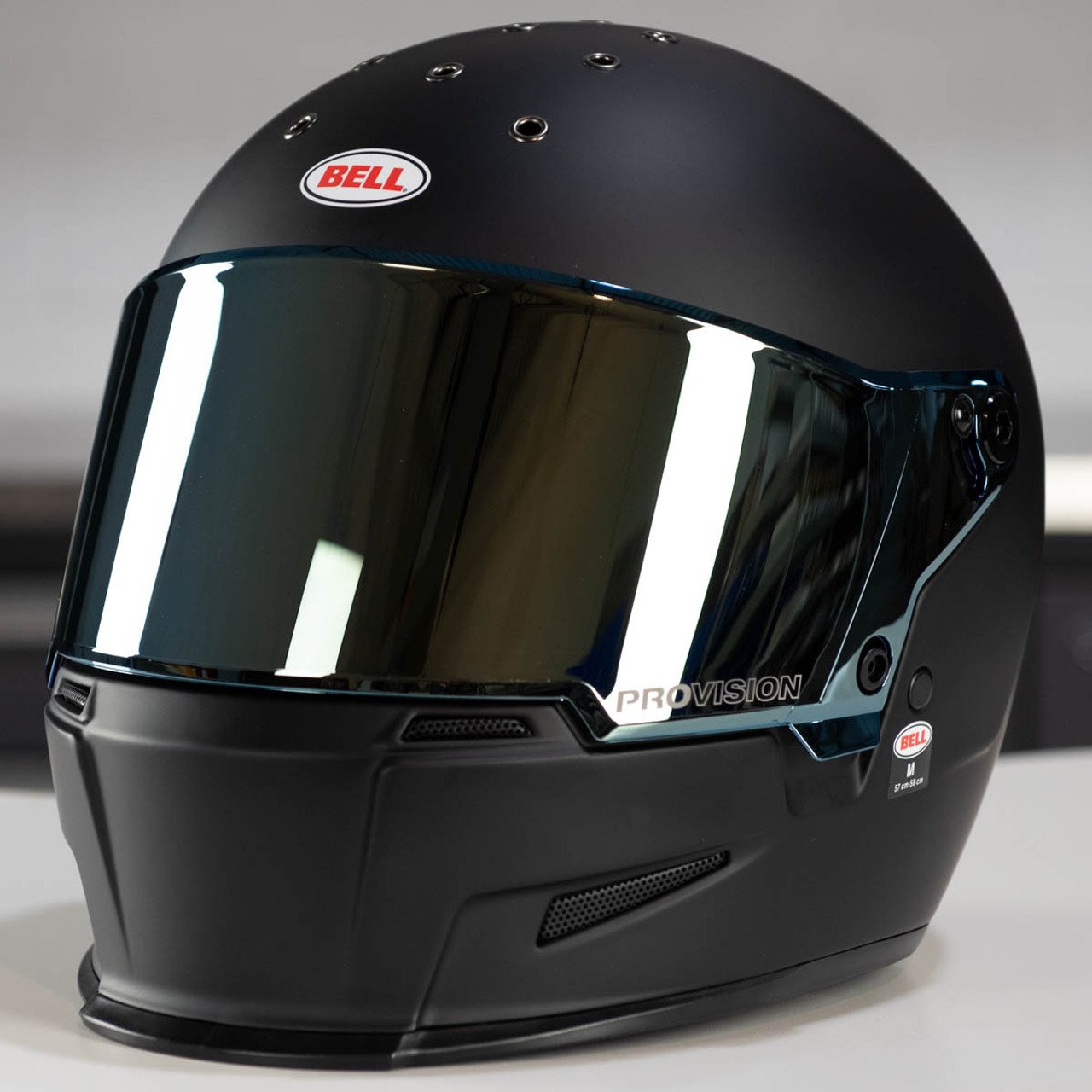 04eaf29e Bell Eliminator Gold Iridium Face Shield - 7102289 - Get Lowered Cycles