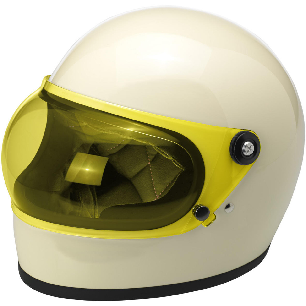Biltwell Gringo S Bubble Shield Anti Fog Yellow