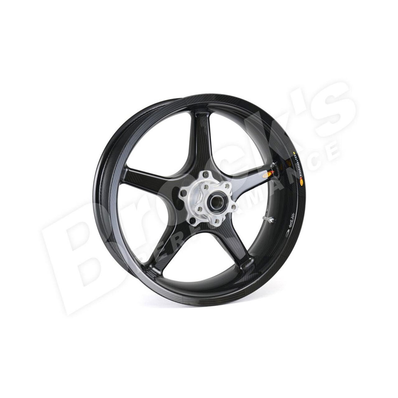 Carbon Fiber Wheels >> Bst 17 X 4 5 Black Star Carbon Fiber Rear Wheel For 2008 2017