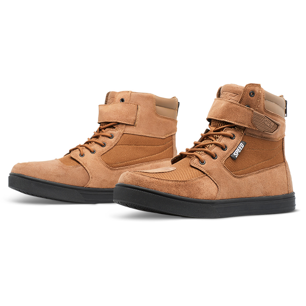 Speed /& Strength Black Nine Moto Shoe TAN 11