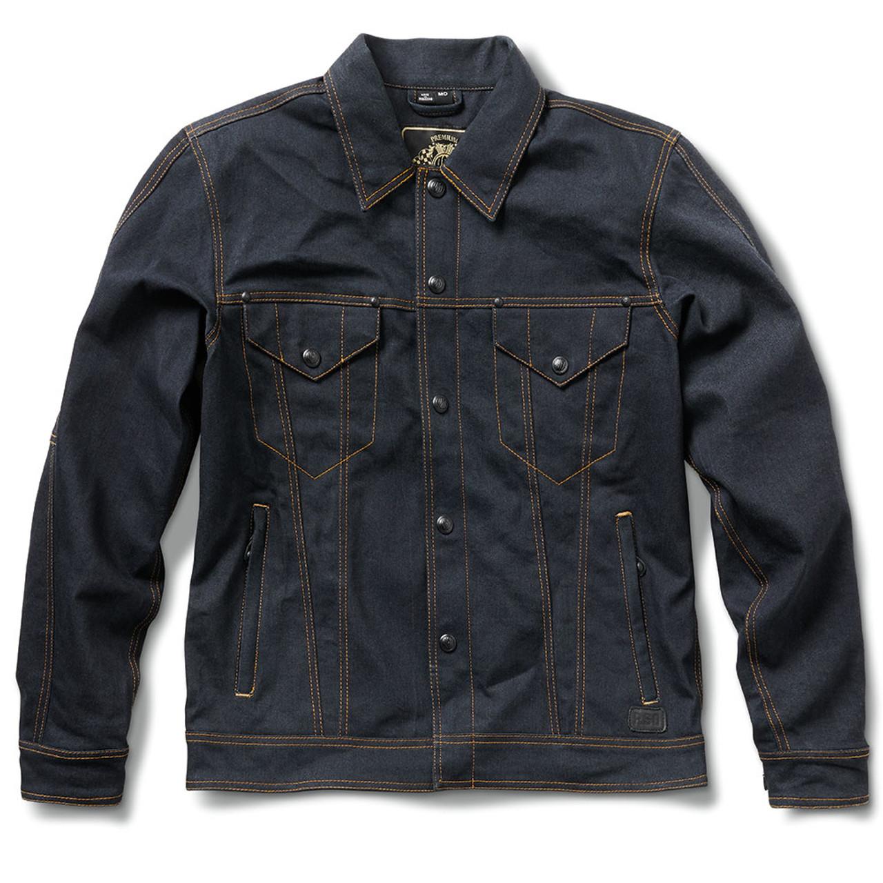Roland Sands Denim Jacket Indigo