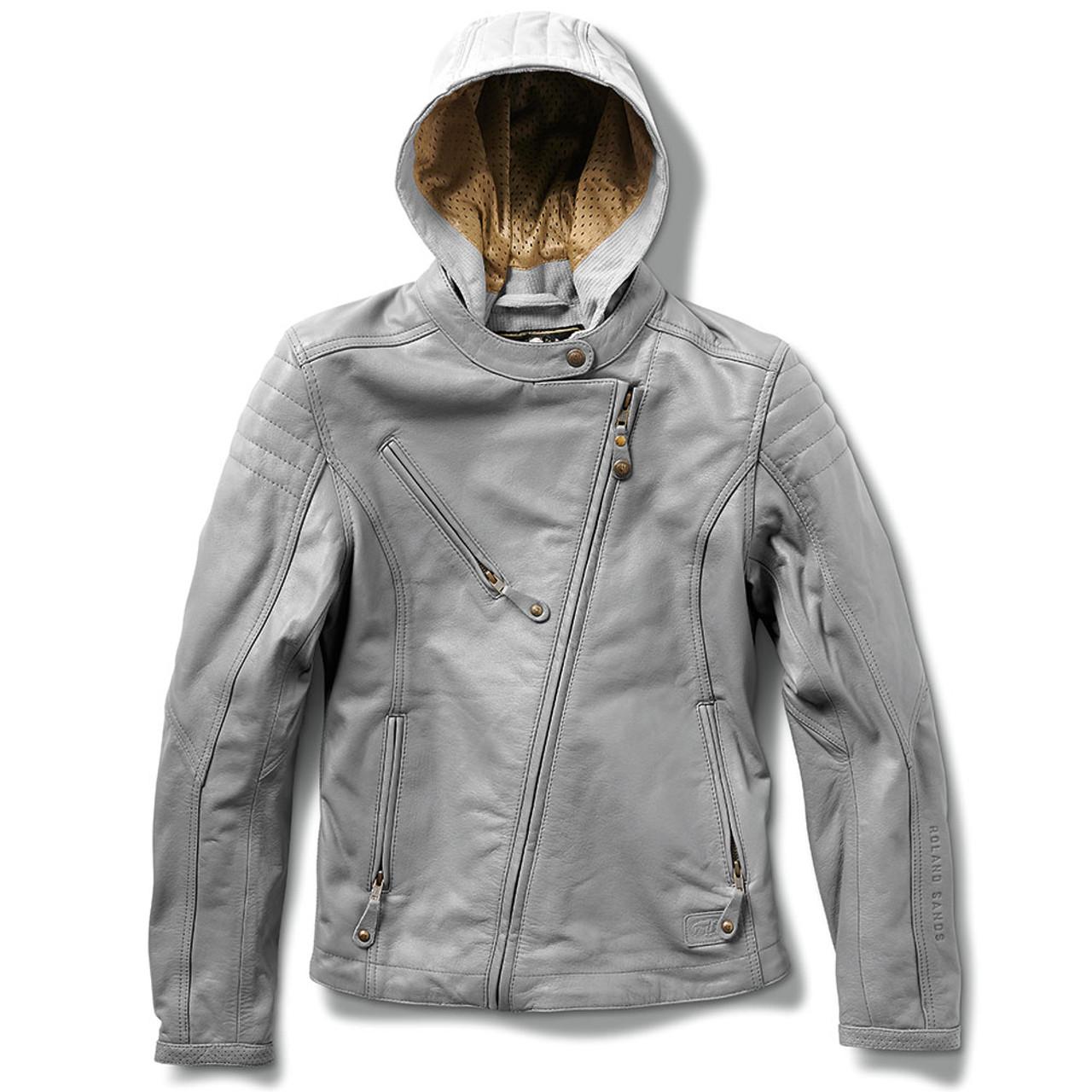 a5070dbd7 Roland Sands Women's Mia Leather Jacket - Grey