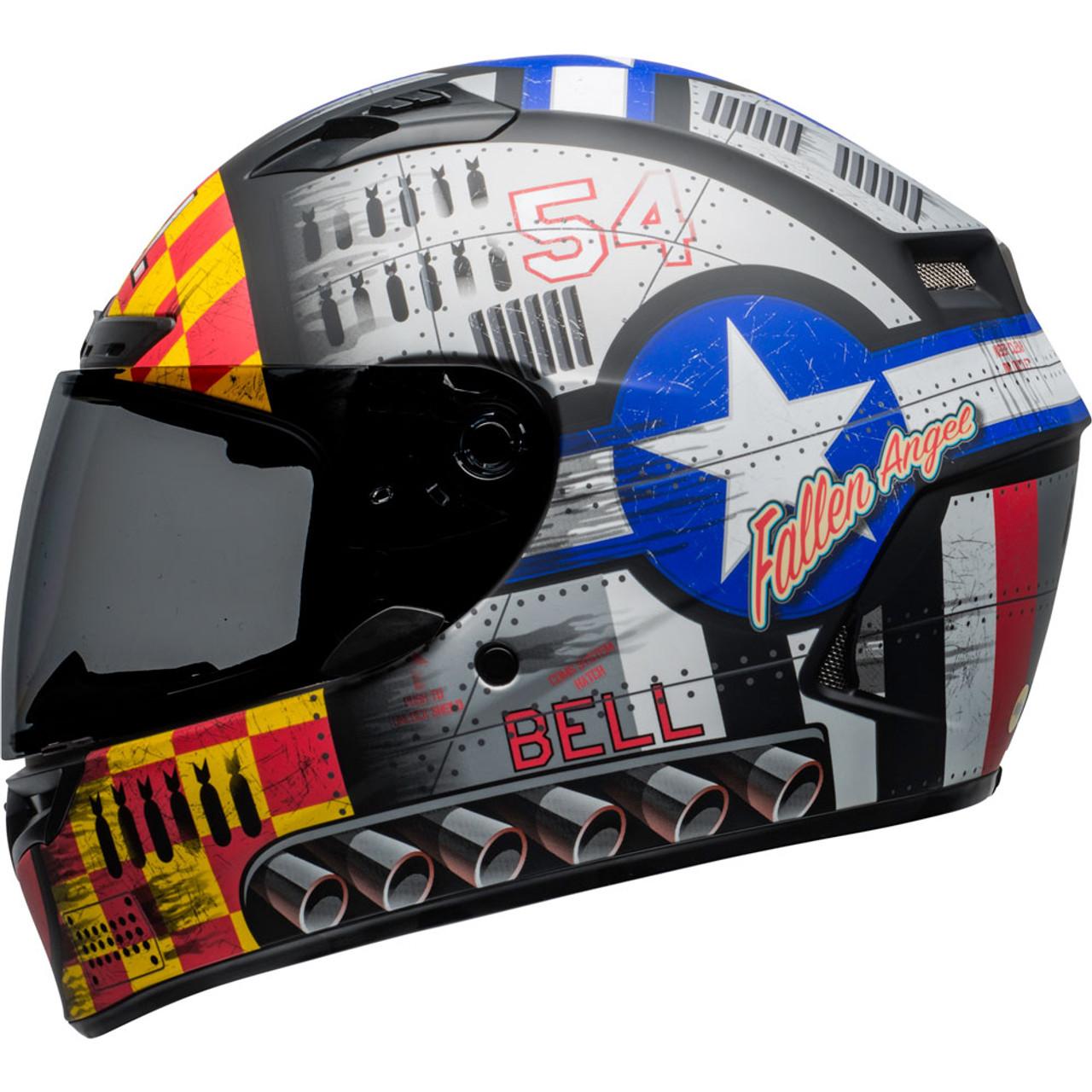 BELL 2020 Qualifier DLX Mips Street Helmet Devil May Care Motorcycle On-Road