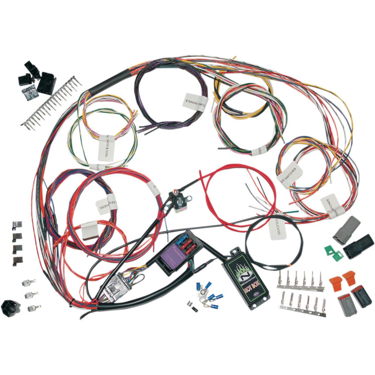 on harley bobber wiring harness