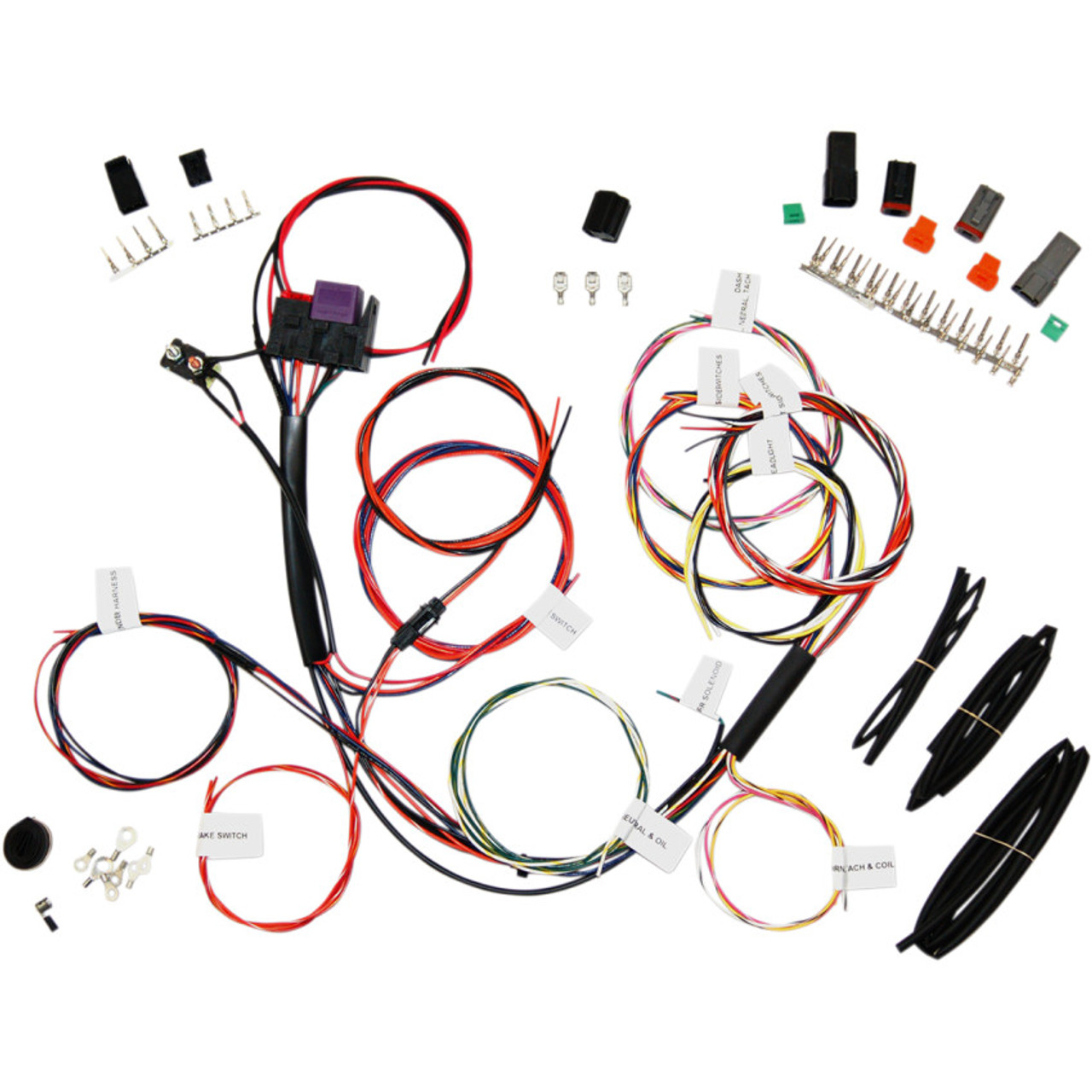 Namz Complete Bike Wiring Harness - No Signals - NCBH-01-C - Get Lowered  CyclesGet Lowered Cycles