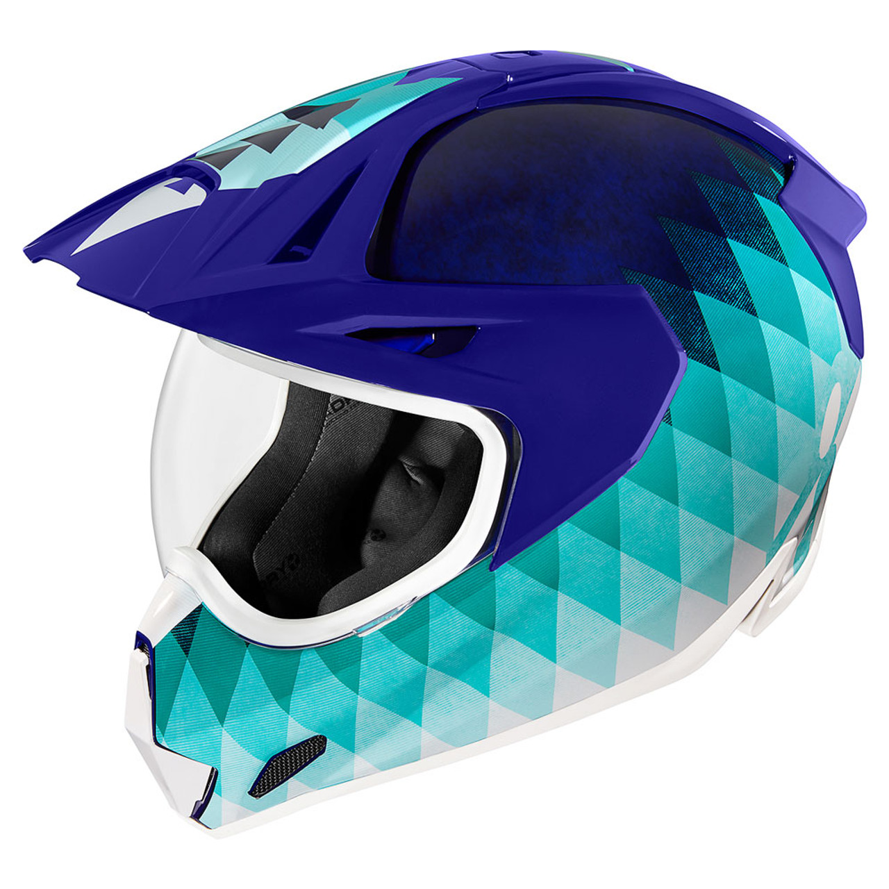 Ghost Carbon Motorcycle Adventure Helmet *SHIPS SAME DAY* ICON Variant