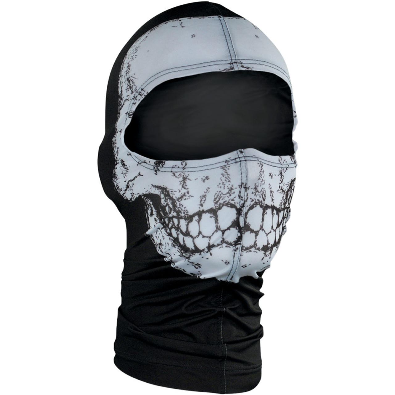 836a512ce54 Zan Headgear Skull Nylon Balaclava - Get Lowered Cycles