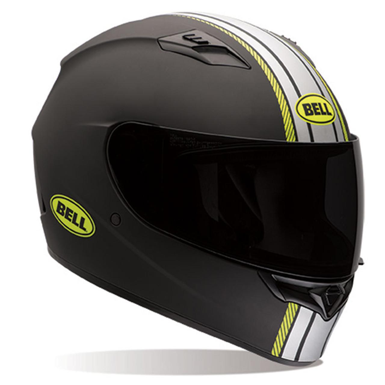 Bell Motorcycle Helmet >> Bell Qualifier Hi Vis Rally Matte Helmet