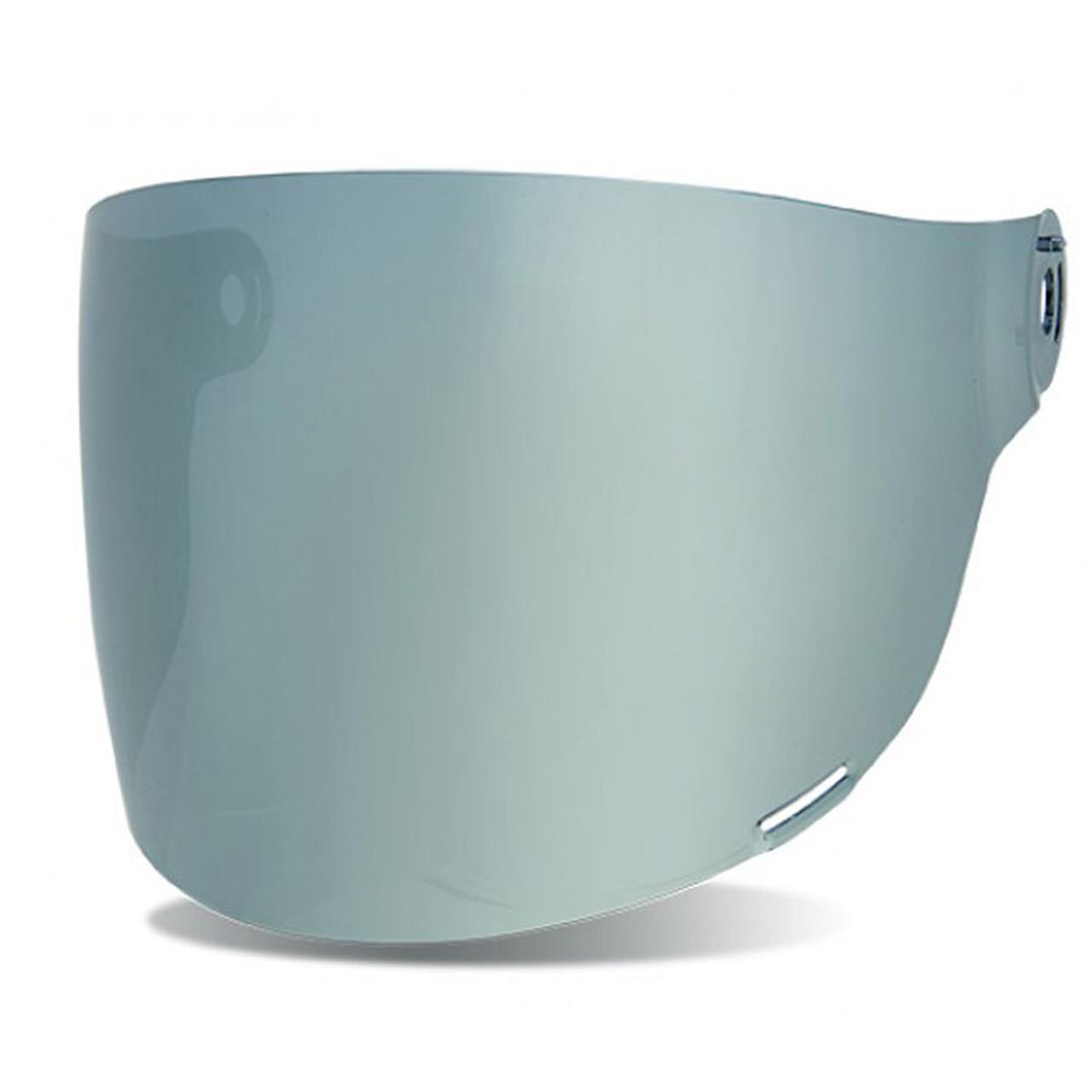 Bell Bullitt Flat Shield Visor Black Tabs Clear 8013377