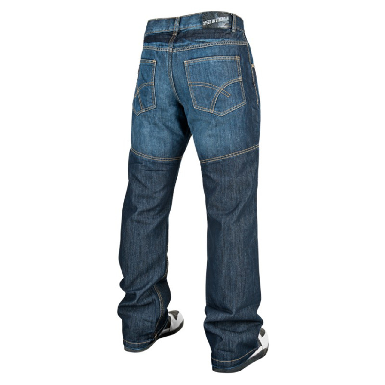 cf28434fe0b308 Speed and Strength Run With The Bulls Motorcycle Jeans - Get Lowered ...