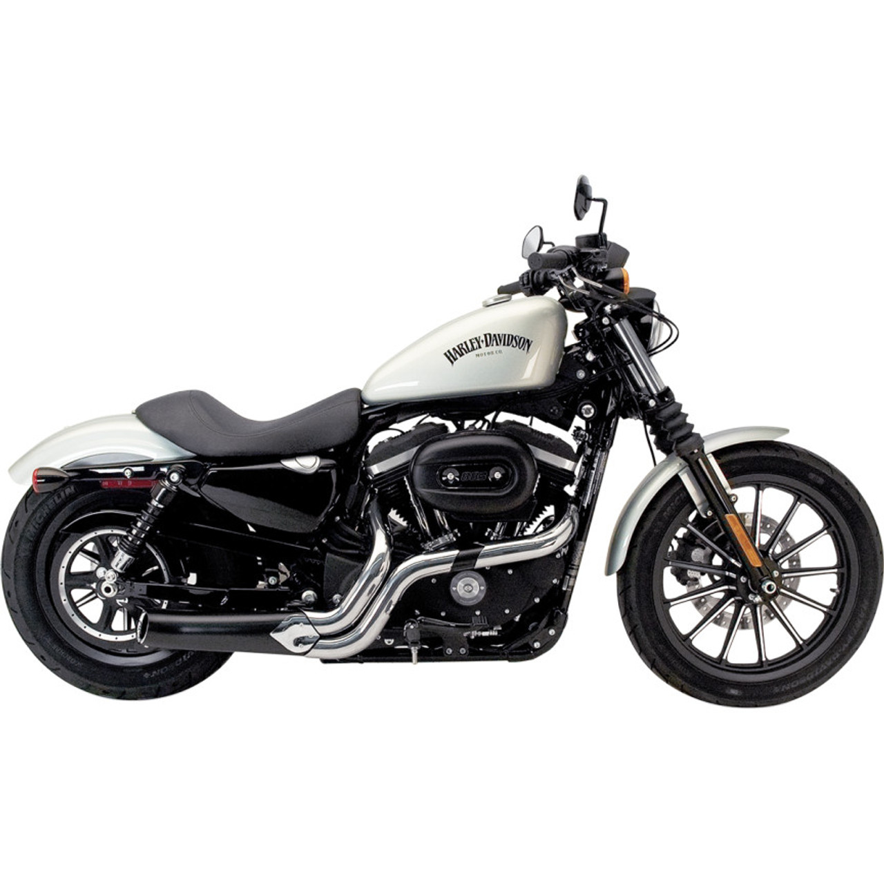 Supertrapp Phantom Ii Exhaust System For 2014 2015 Harley Sportster Get Lowered Cycles