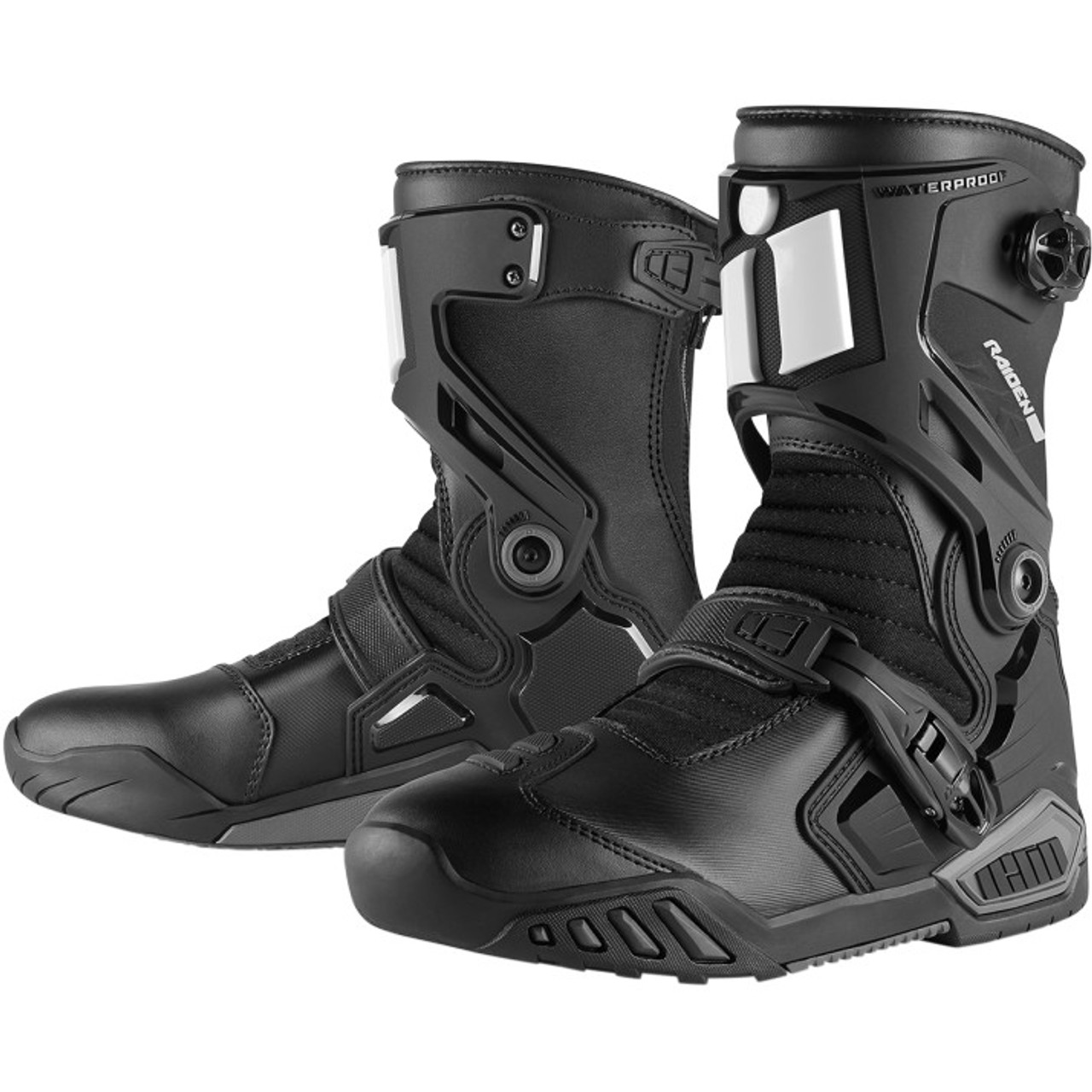 26db7802150c Icon Raiden DKR Motorcycle Boots - Get Lowered Cycles