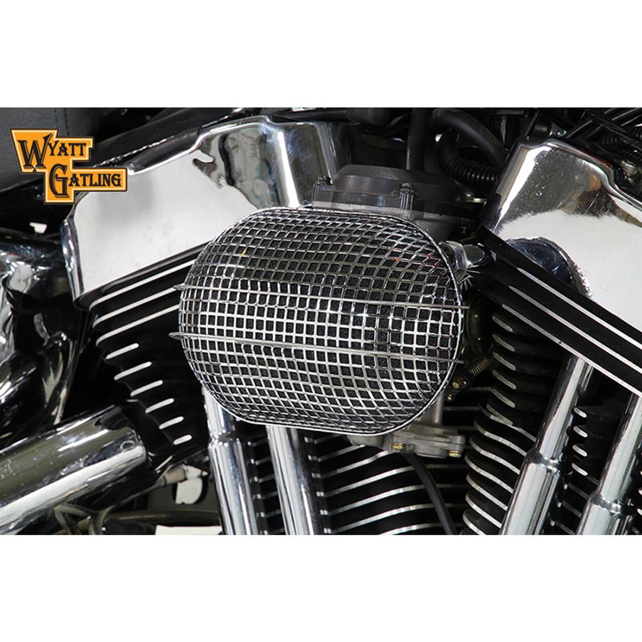 Wyatt Gatling Inverted Air Filter Kit,for Harley Davidson,by V-Twin