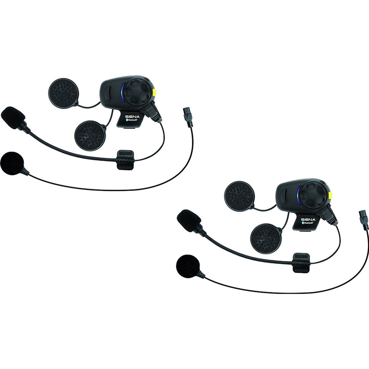 8f4ae6a7f38 Sena SMH5 Stereo Headset with Bluetooth Intercom - Dual Pack for Motorcycle  - Get Lowered Cycles