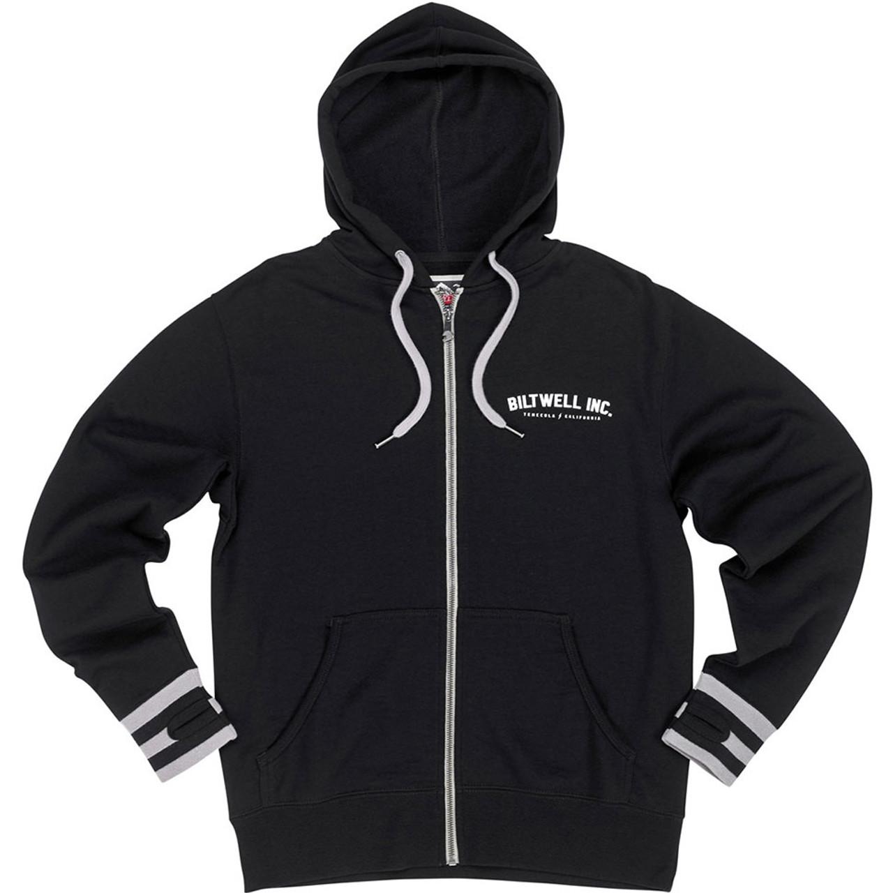aad32f32a Biltwell Basic Black Zip Hoodie