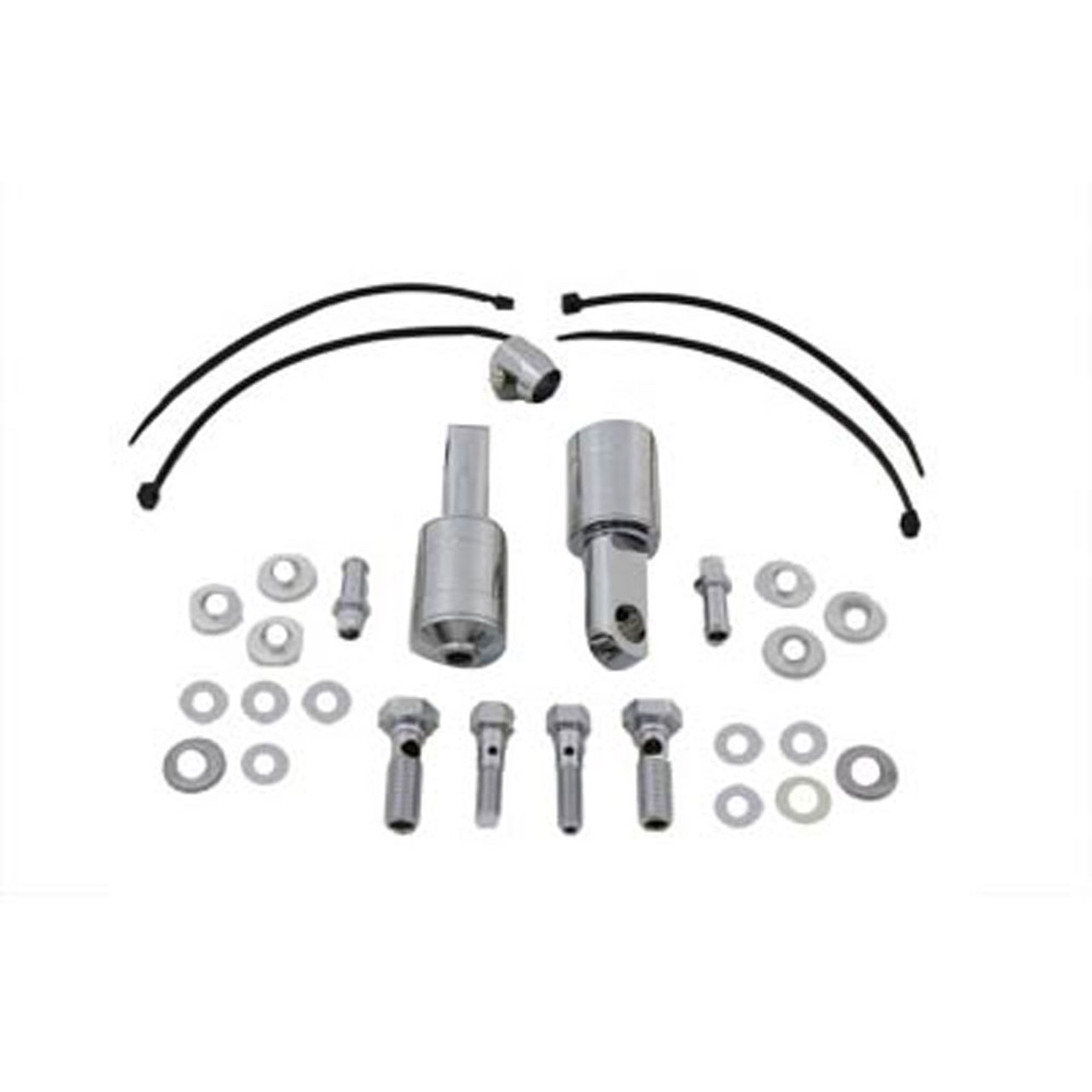 V-Twin Sifton Dual Breather Kit for Harley