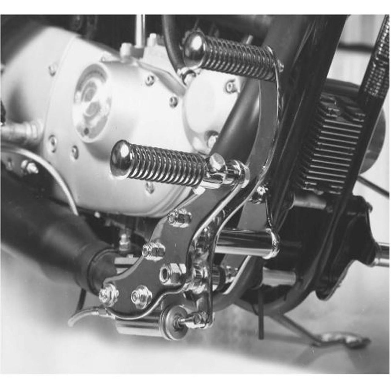 V Twin Chrome Daniel Boone Forward Controls For 1979 1983 Harley Sportster