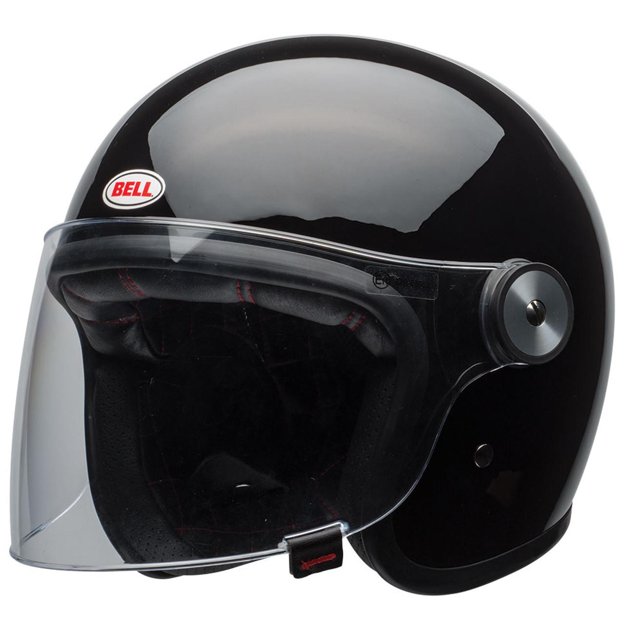Bell Motorcycle Helmet >> Bell Riot Helmet Gloss Black
