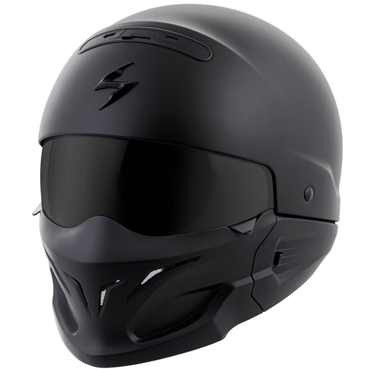 ed183688 Scorpion Covert Convertible Modular Motorcycle Helmet - Get Lowered Cycles