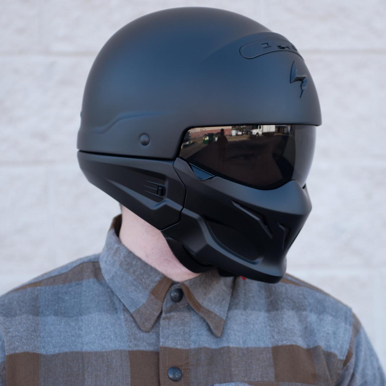 Scorpion Covert Convertible Modular Motorcycle Helmet