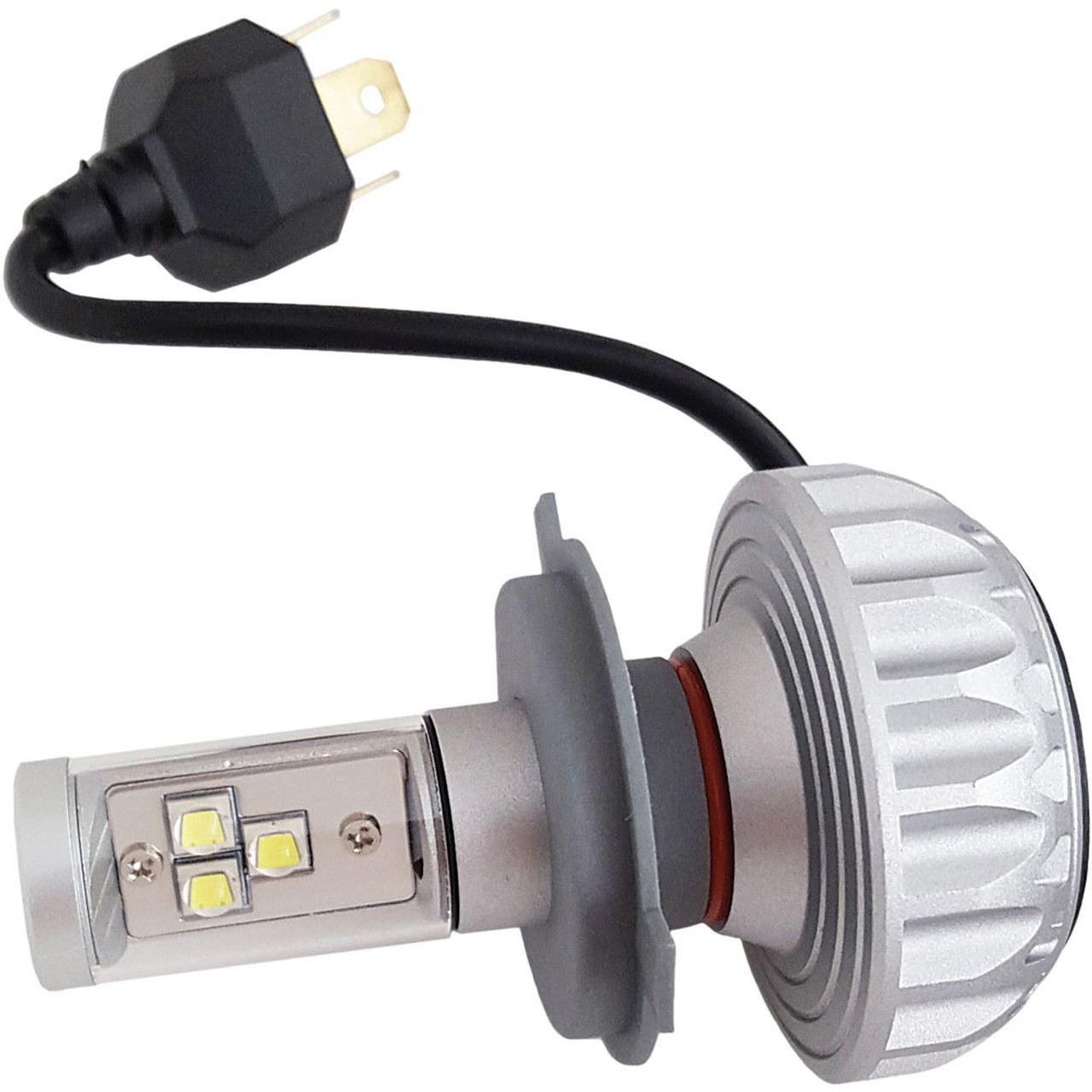 Led Replacement Headlight Bulbs >> Pathfinder Performance H4 Led Headlight Bulb For Harley Get