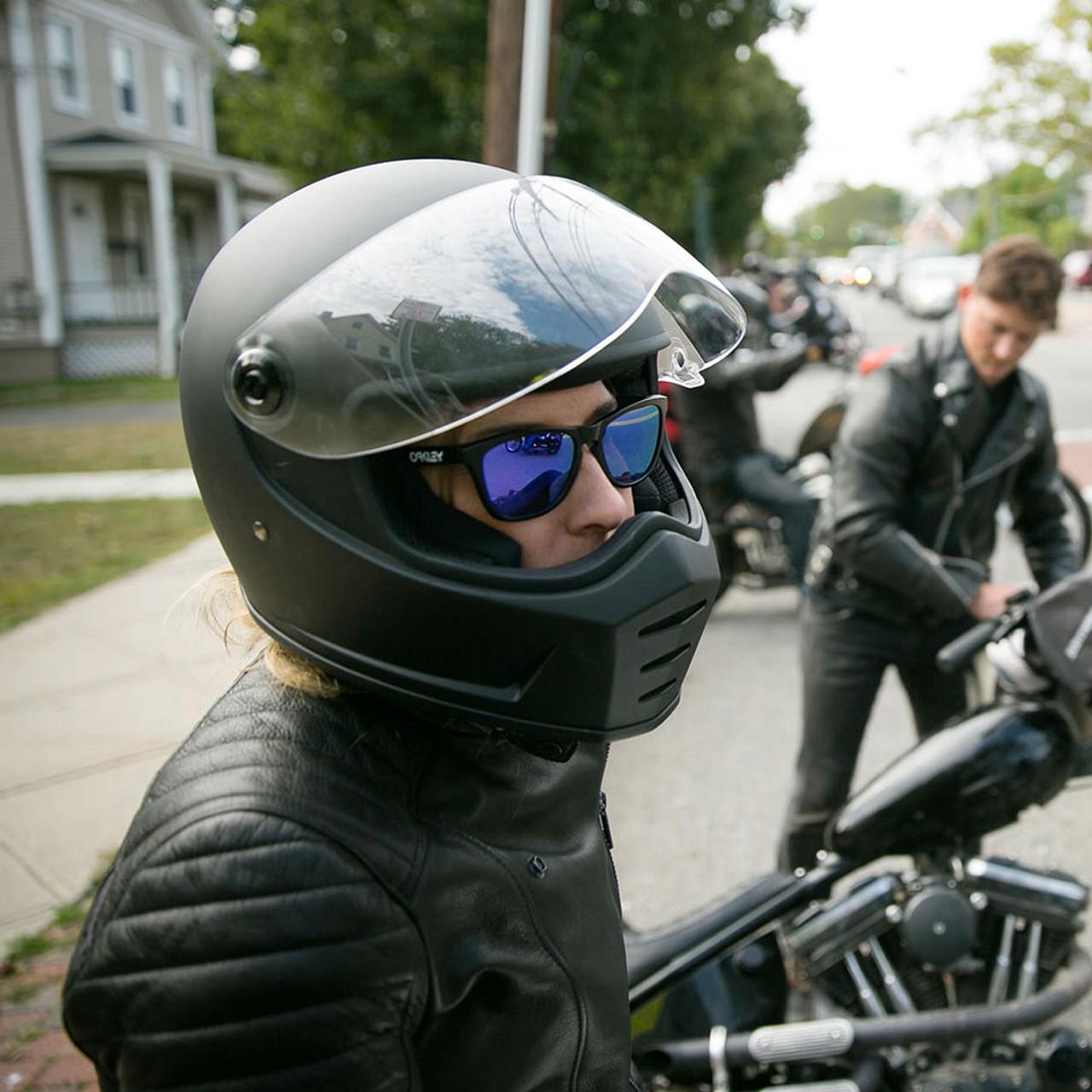 f1c6f4ed Biltwell Lane Splitter Helmet - Flat Black - Get Lowered Cycles