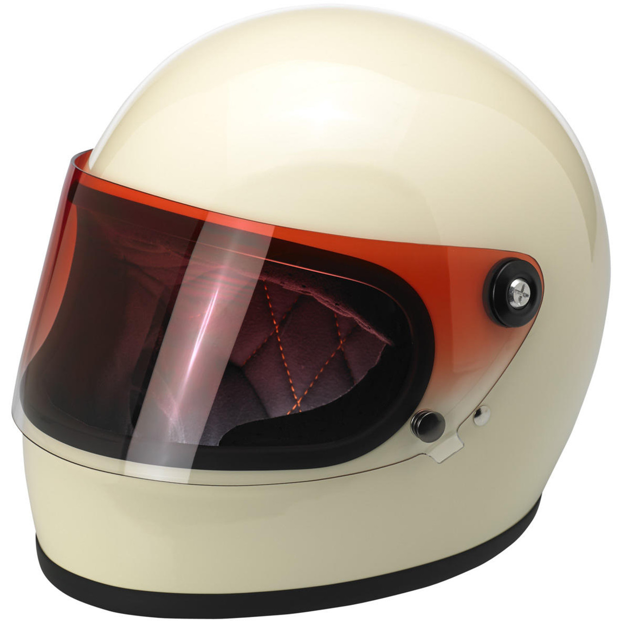 9d5c474a Biltwell Gringo S Flat Shield - Red Gradient - Get Lowered Cycles
