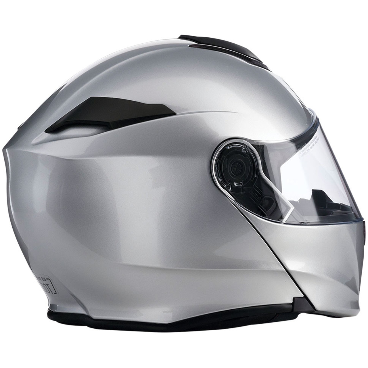 Flat Black Z1R SOLARIS Modular Helmet w// Drop-Down Sun Visor Choose Size
