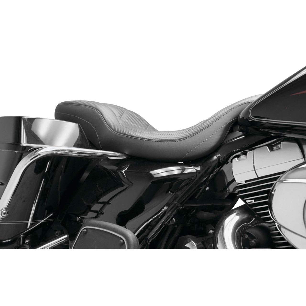 2008-2018 Harley Davidson FLH Electra Glide New Mustang Super Tripper Carbon Seat