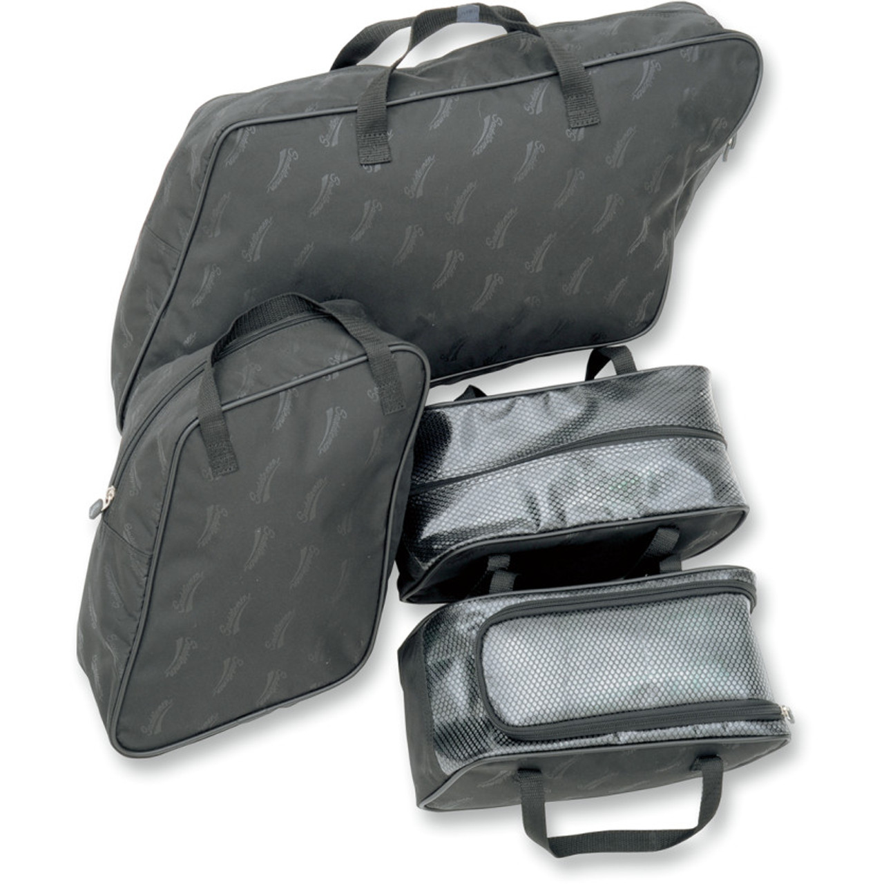 Frames & Fittings High Quality Black Luggage Saddlemen Liners Panniers For Harley Touring Models