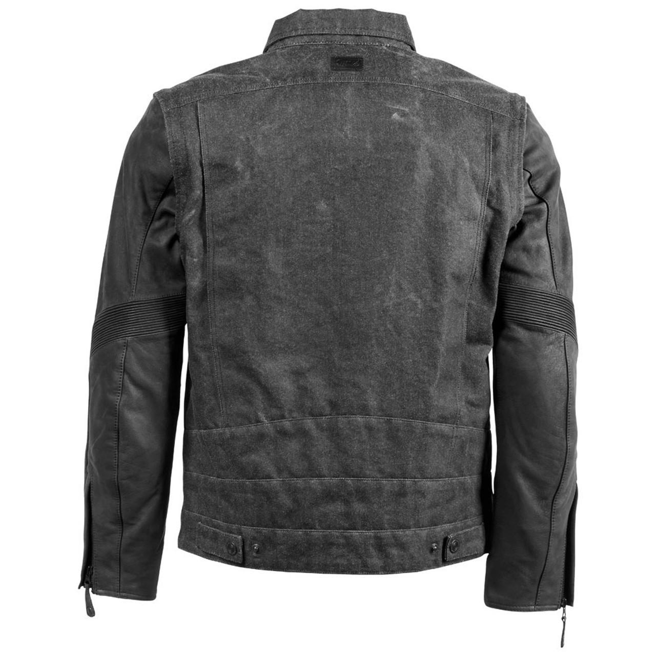 Roland Sands Hefe Denim Jacket Black