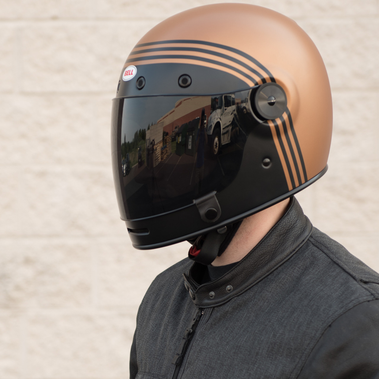 8c521926 Bell Bullitt Matte Black/Copper Forge Helmet - Get Lowered Cycles
