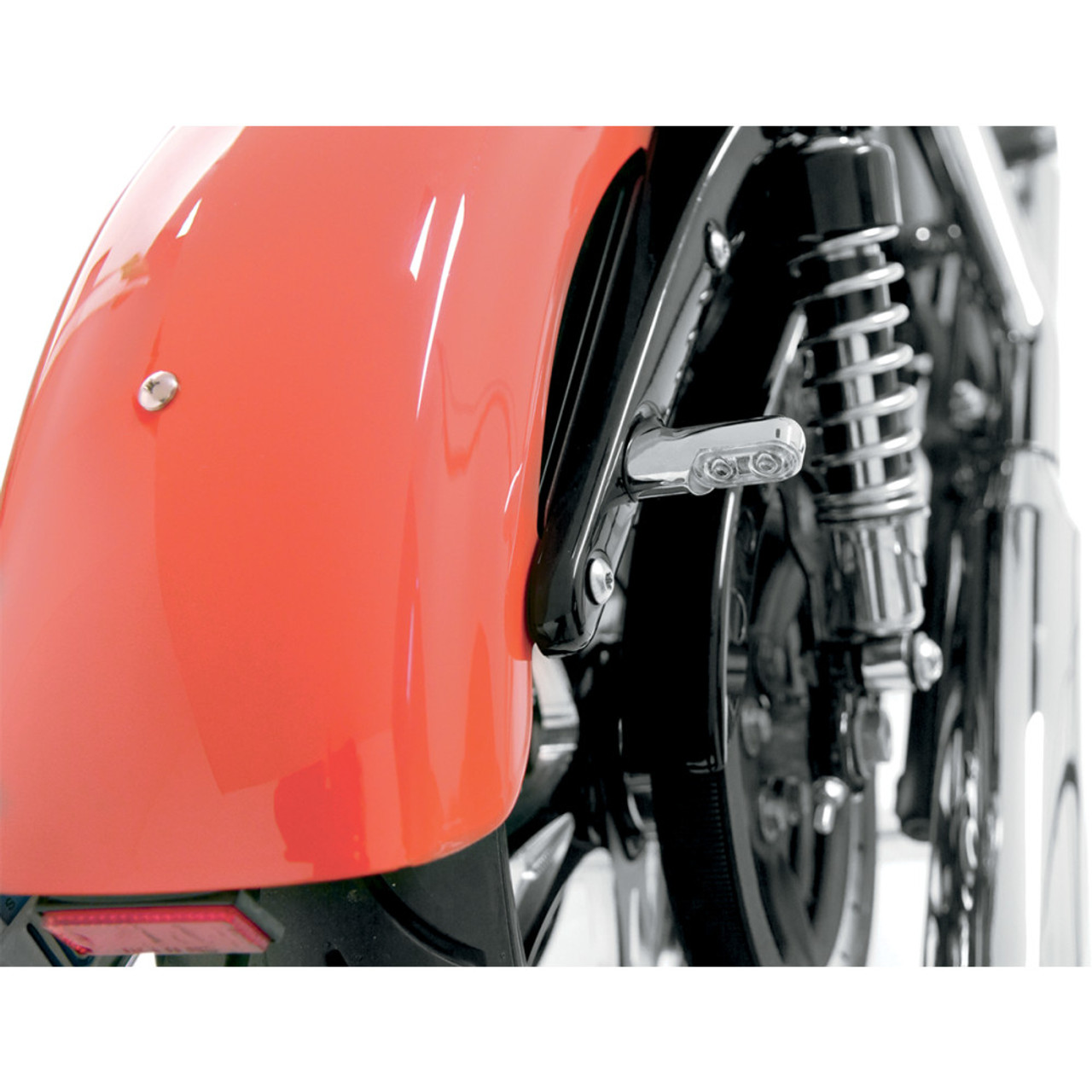Arlen Ness Power LED Bolt-On Rear Turn Signals for Harley - Chrome