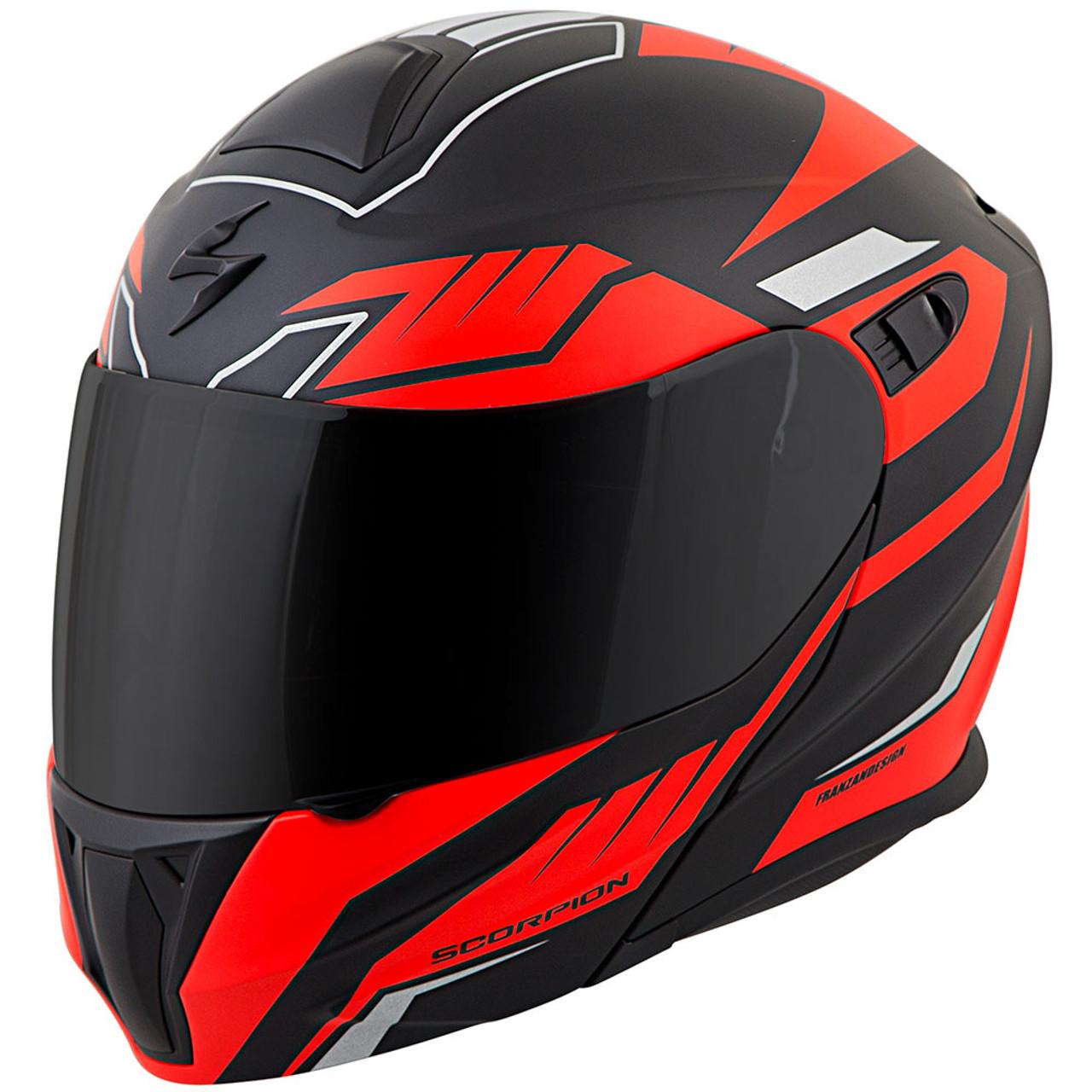 9a2732b1 Scorpion EXO-GT920 Satellite Modular Motorcycle Helmet - Get Lowered ...