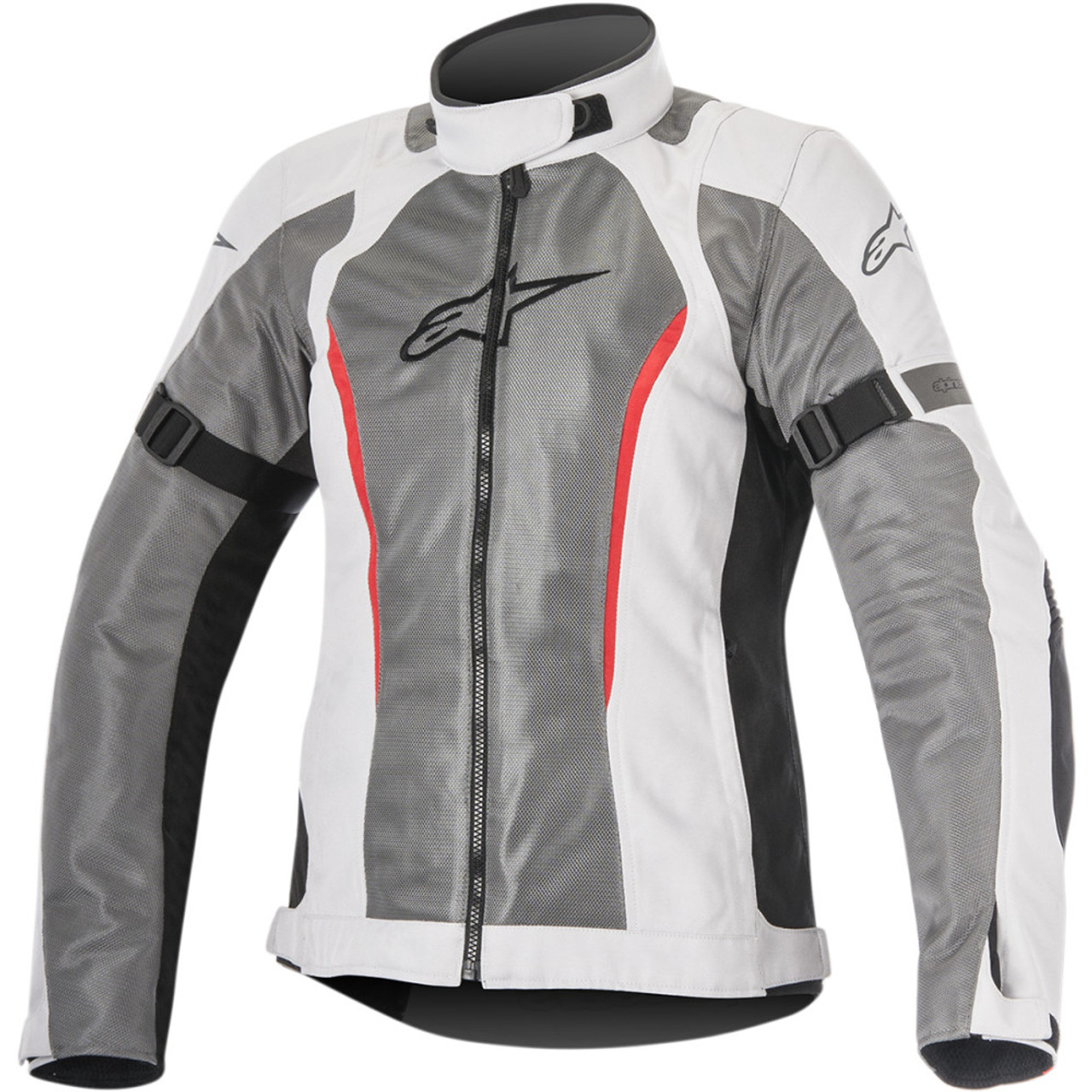 Alpinestars Women s Stella Amok Air Drystar Gray Motorcycle Jacket - Get  Lowered Cycles dc6495a0f6