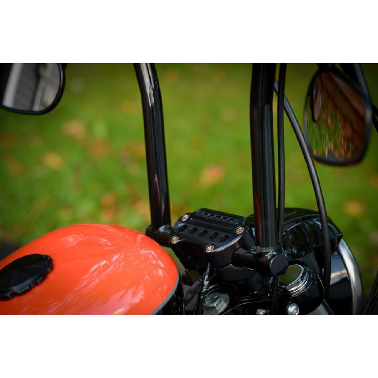 Joker Machine Black Indicator Handlebar Clamp 10-306B