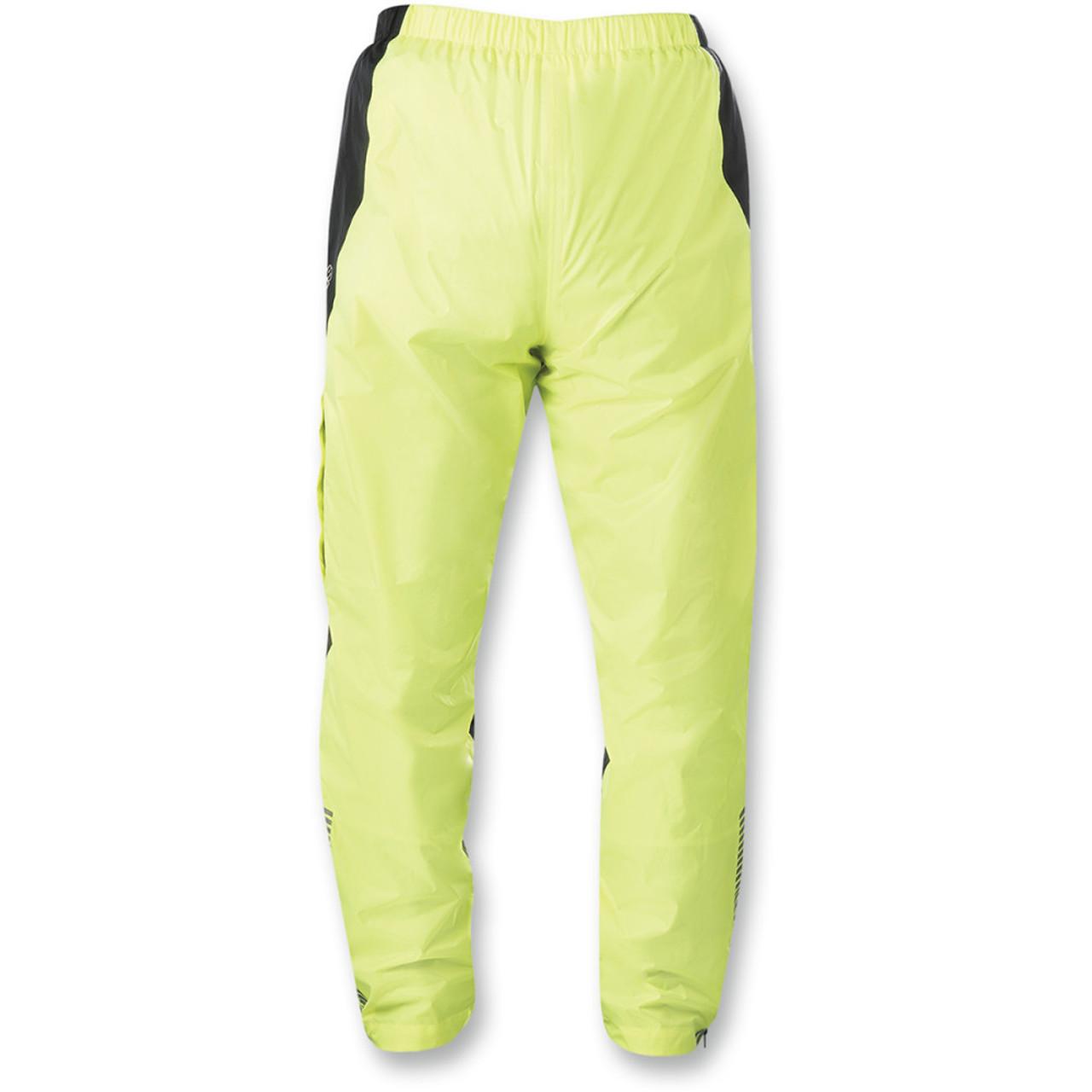f7467326f52 Alpinestars Hurricane Motorcycle Rain Pants - Fluorescent Yellow/Black -  Get Lowered Cycles