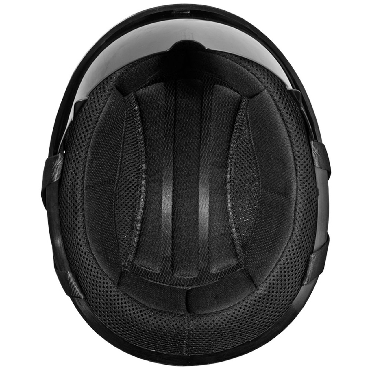 e3b4367838b Daytona DOT Matte Black Skull Helmet w  Inner Shield - Get Lowered ...