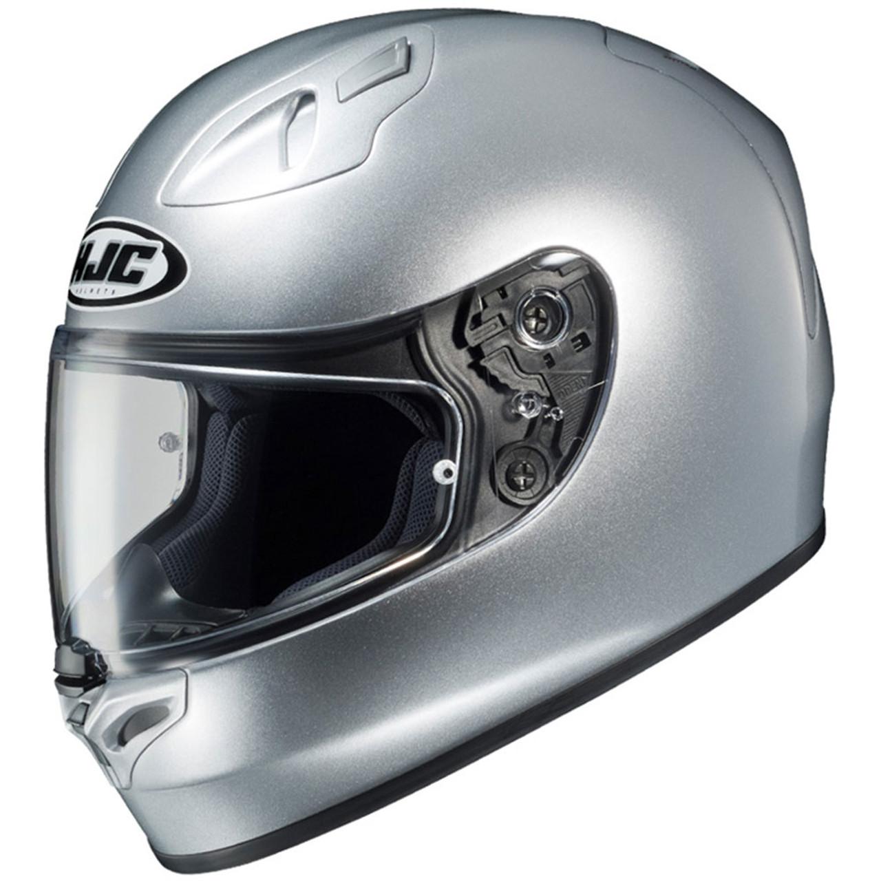 Hjc Fg 17 >> Hjc Fg 17 Motorcycle Helmet Metallic Silver Get Lowered Cycles
