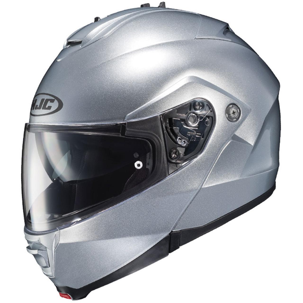 ba3eca95 HJC IS-Max 2 Modular Motorcycle Helmet - Silver - Get Lowered Cycles
