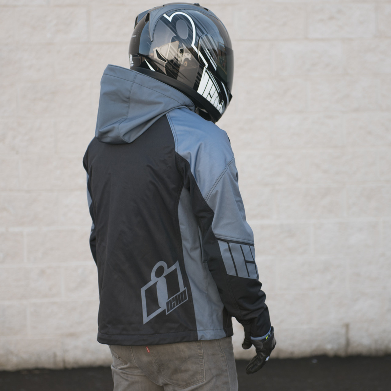 Icon Merc Stealth Riding Motorcycle Street Jacket