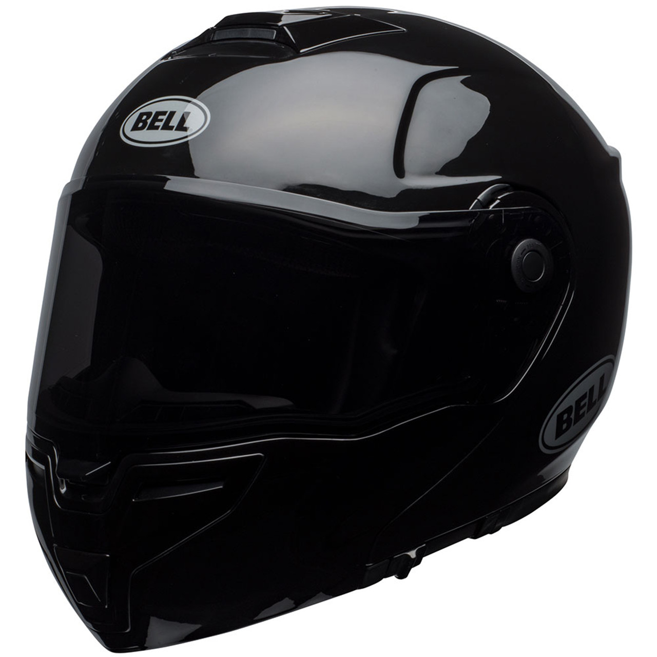 Bell Motorcycle Helmet >> Bell Srt Modular Motorcycle Helmet Gloss Black Get Lowered Cycles