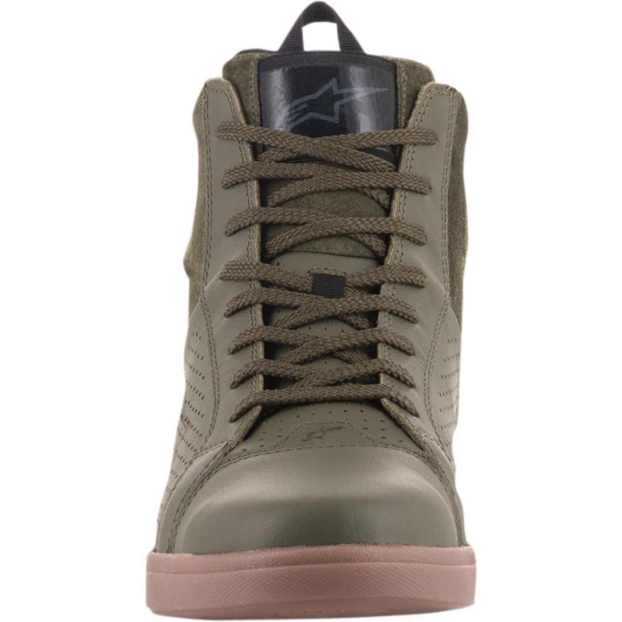e1744a6073 ... Alpinestars Jam Air Shoes - Military Green ...