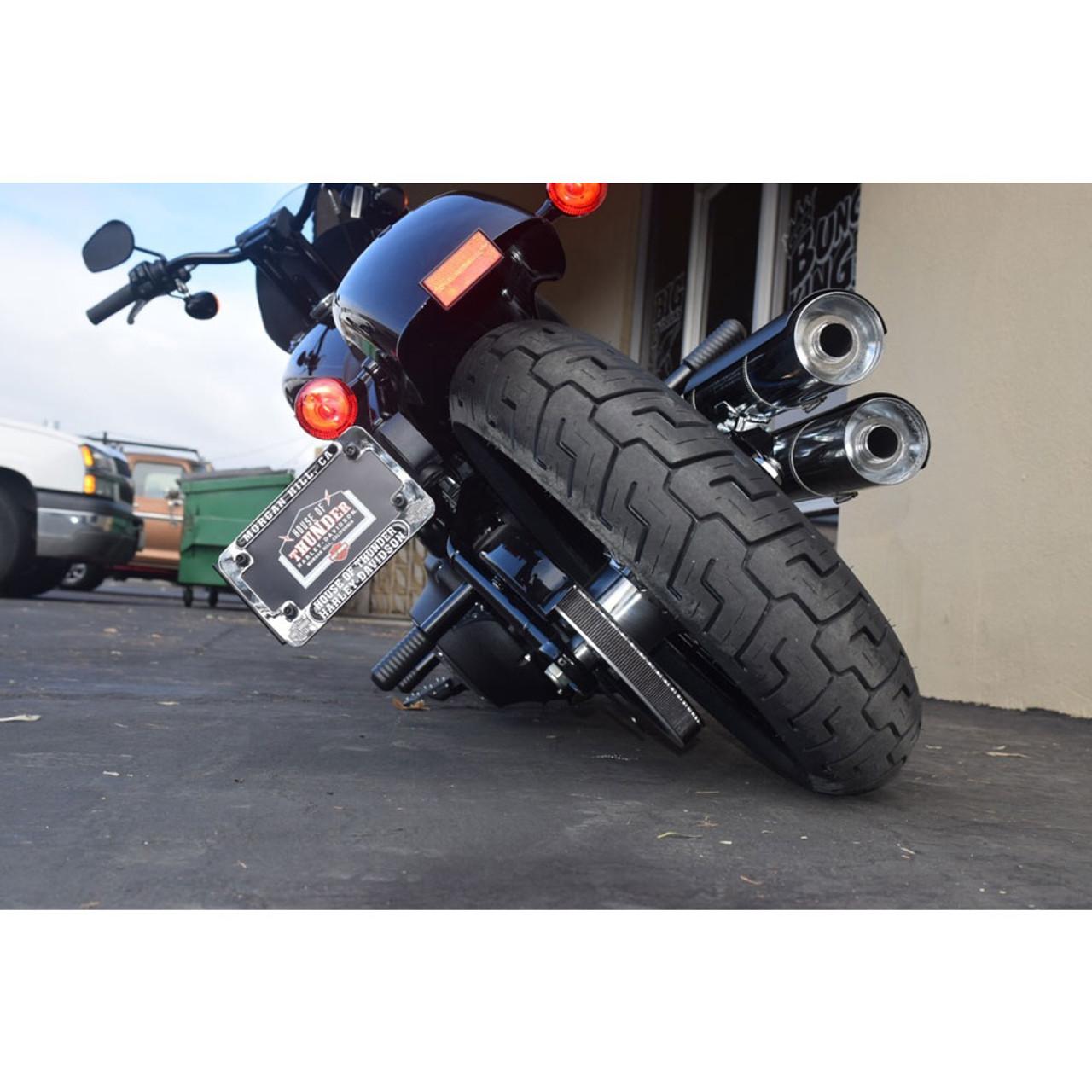 ONETK Passenger Peg Crash Bar,Frame Slider fits for Harley Davidson softail street bob,low riderand Heritage Classic 2018-2020,Left and Right