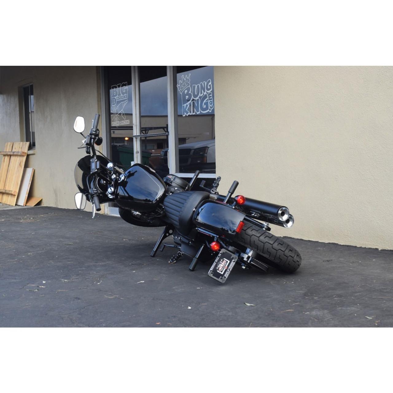 Bung King Highway Peg Crash Bar For 2018 Harley Softail