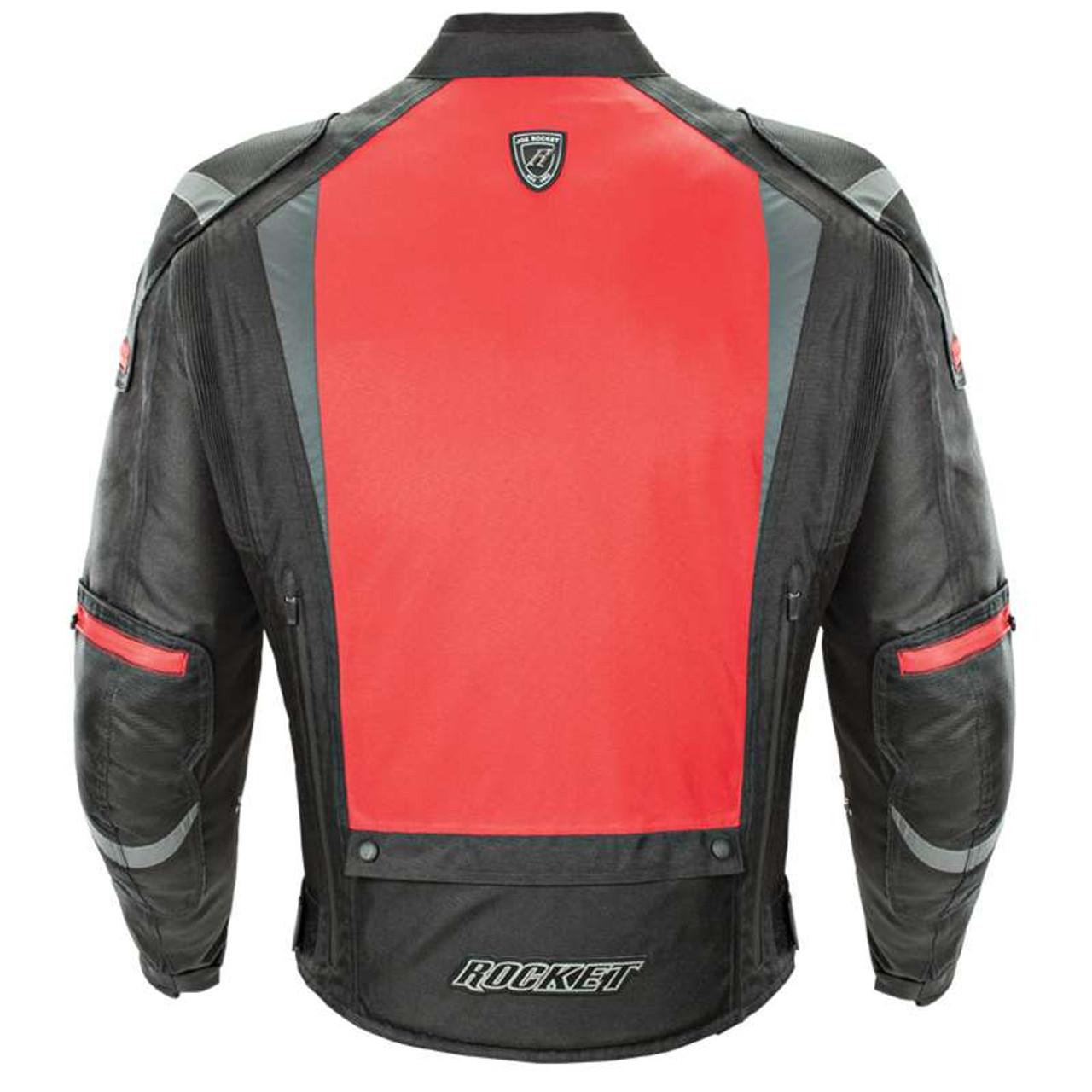 Joe Rocket Atomic 5 0 Jacket Black Red